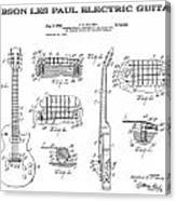 Gibson Les Paul Guitar 4 Patent Art 1955 Digital Art by