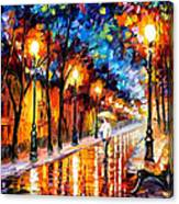 Romantic Dream - Palette Knife Oil Painting On Canvas By ...