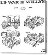 Willys Jeep Patent Art 1941 Digital Art by Daniel Hagerman