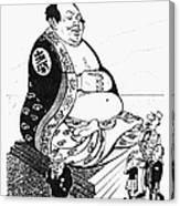 Mao Tse-tung Cartoon, 1958 Photograph by Granger