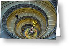 Spiral Staircase In Vatican Museum Photograph By Tony Murtagh