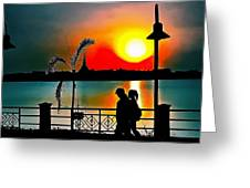 romantic stroll digital art