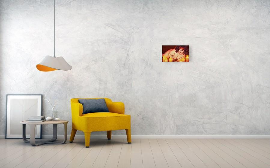 sofa sized siren canvas