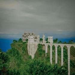 Fantasy Medieval Gothic Castle 3D Model