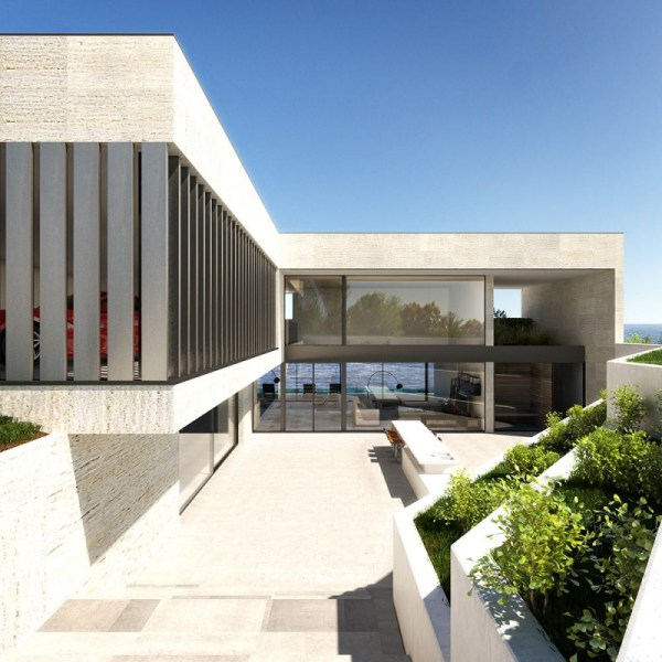 Architectural Rendering 3d Of