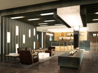 Architectural Rendering | Architecture rendering hotel ...
