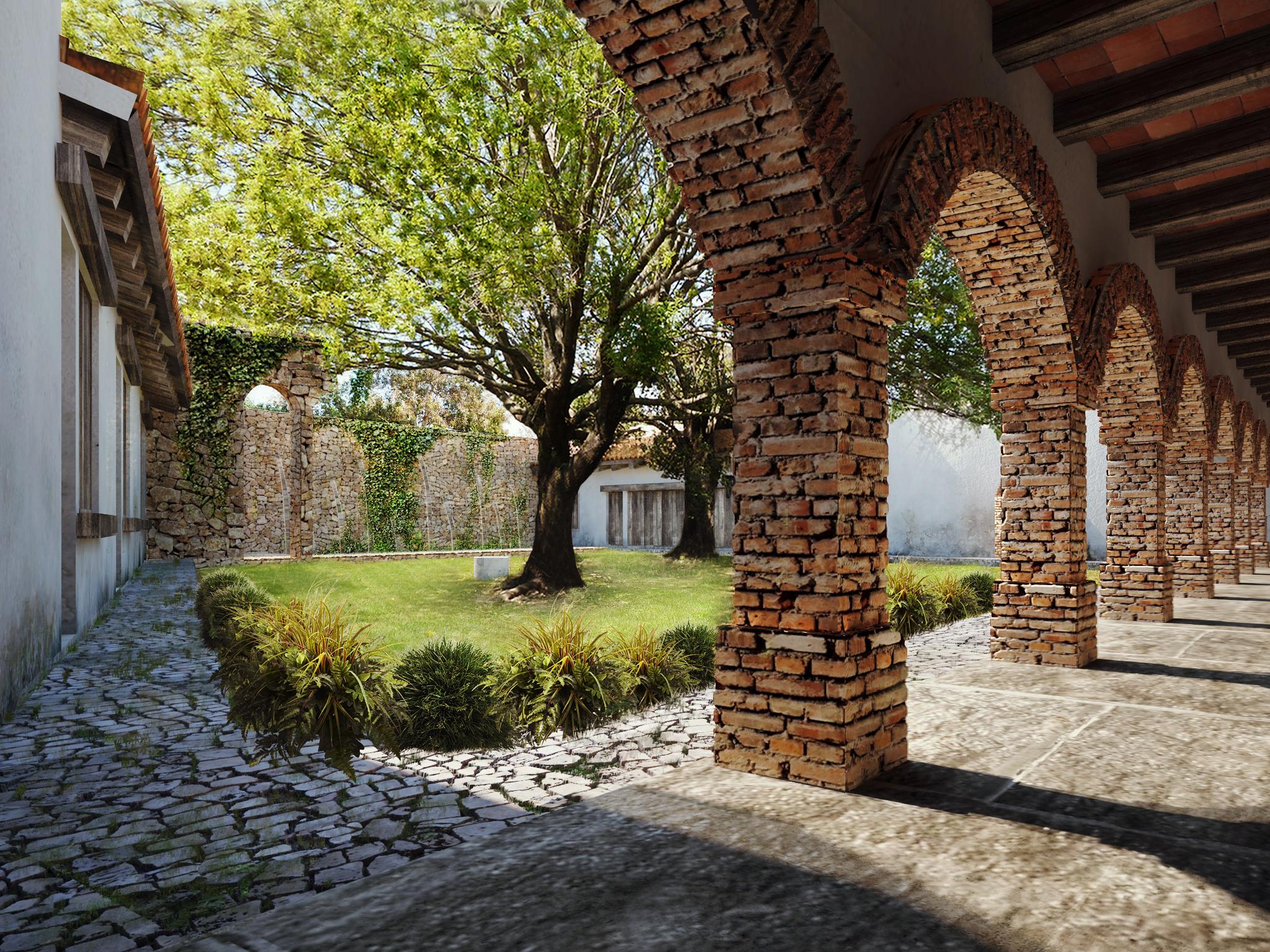 3d Interior Wallpaper Hd Hoteles Renders Guadalajara