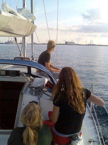 Trine, Anne-Julie og Lars