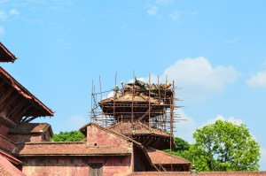 Reconstruction by Patan Durbar Square