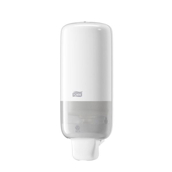 Tork Dispenser, S4, til skumsæbe (Hvid)