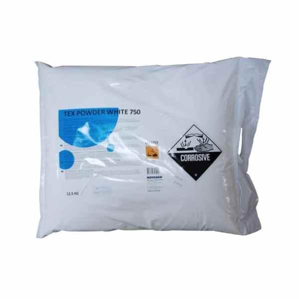 Tex Powder White 750 - Vaskepulver 12,5 KG
