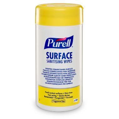 Purell surface desinfektion wipes, 200 stk.