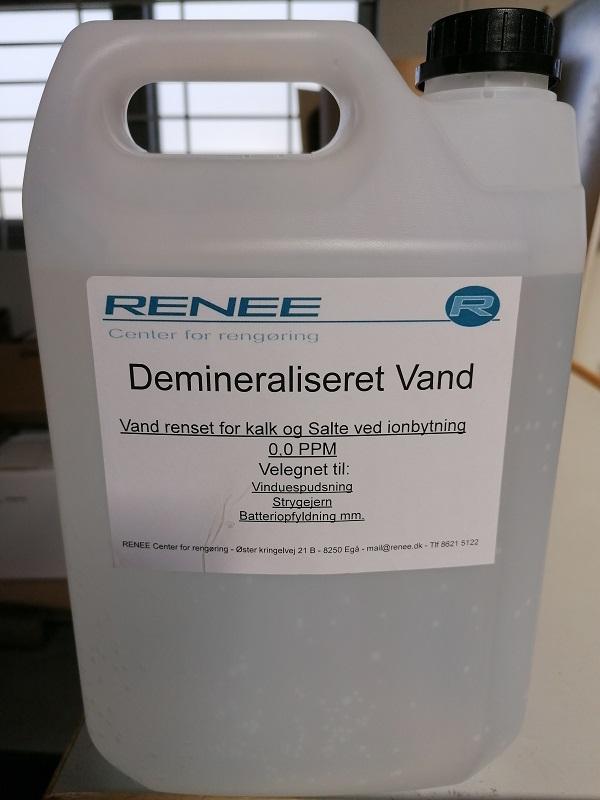 Demineraliseret vand - 5,0 liter