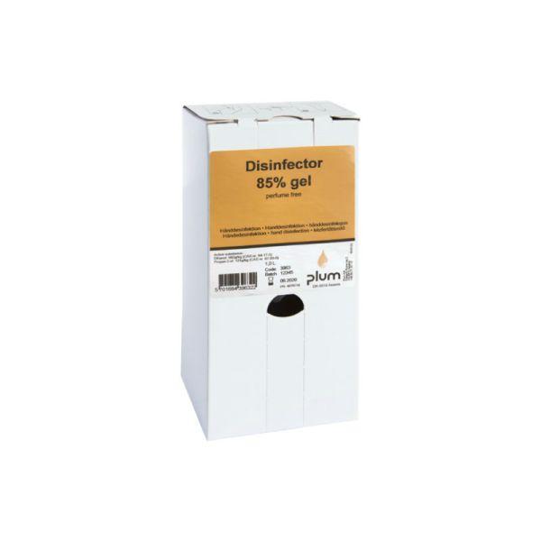 Plum Desinfector 85 %, til ståldispenser