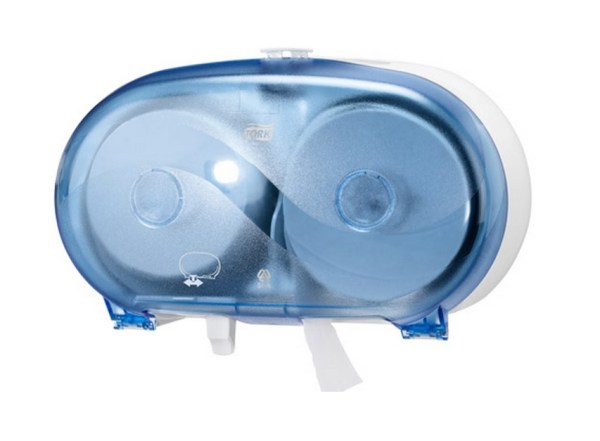Dispenser til Compact toiletpapir (Blå)