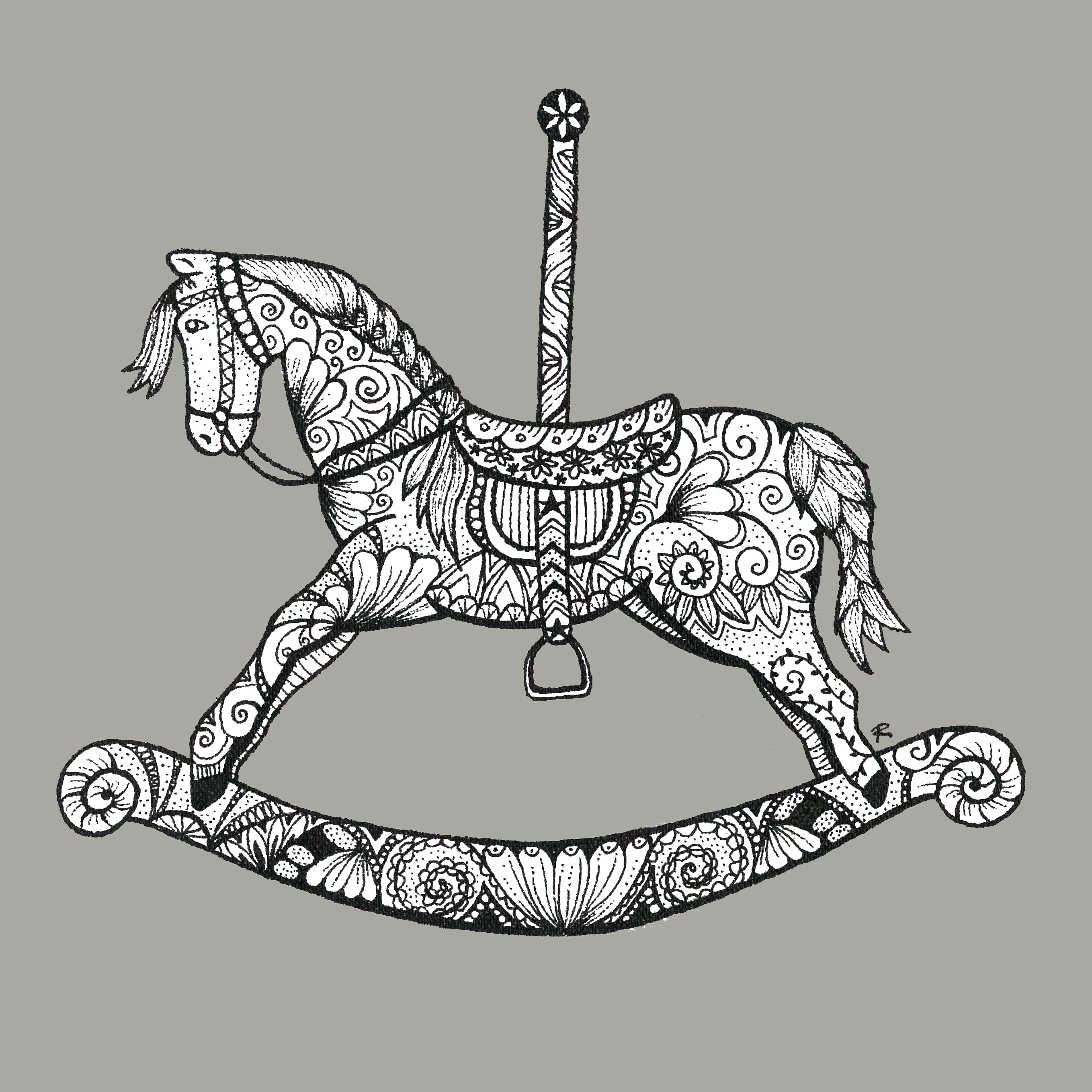 DIY How To Draw Rocking Horse Plans Free
