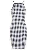90's gingham mini dress