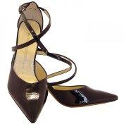 cross strap high heels by Kaiser