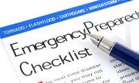 Emergency Prepare Checklist