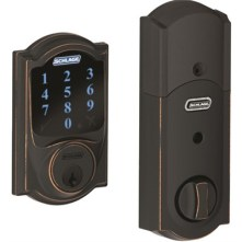 Deadbolt Schlage Camelot Touchscreen and Motion Sensor