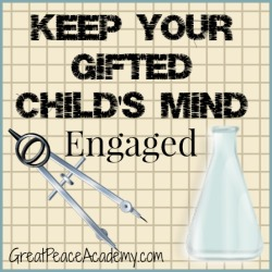 Keeping a Gifted Child's Mind Engaged with Resources from Prufrock Press | Great Peace Academy