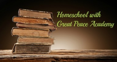 Homeschool with Great Peace Academy, blog about homeschooling an only child gifted learner.