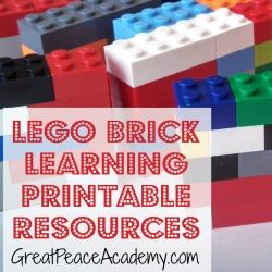 Lego Brick Printables Thumbnail