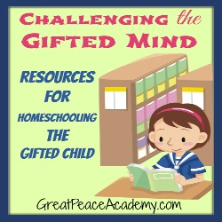 Resources for Challenging the Gifted Child's Mind