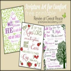 Scripture Art for Comfort thumbnail