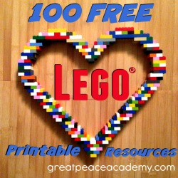 Free Lego Learning Printable Resources | Great Peace Academy
