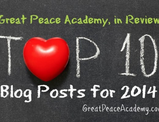 Top 10 Blog posts for 2014 at Great Peace Academy