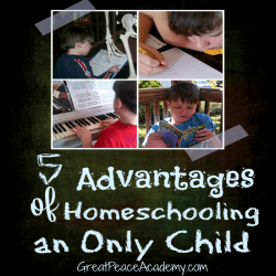 Advantages of Homeschooling an Only child Thumbnail