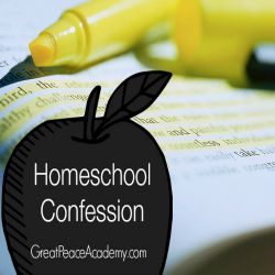 A Homeschool Confession at Great Peace Academy
