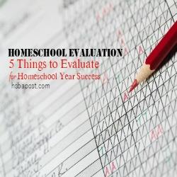 Homeschool Evaluations