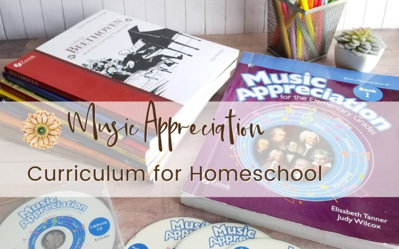 Comprehensive Music Appreciation Curriculum for Elementary Homeschool | Renée at Great Peace #homeschool #homeschoolmusicappreciation #musicappreciation #curriculum #ihsnet