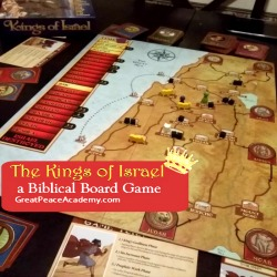 The Kings of Israel a Biblical Board Game at Renee at Great Peace