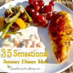 35 Summer Dinners Every Family will Love by GreatPeaceAcademy.com