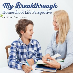 My Breakthrough Homeschool Life Perspective | Great Peace Academy