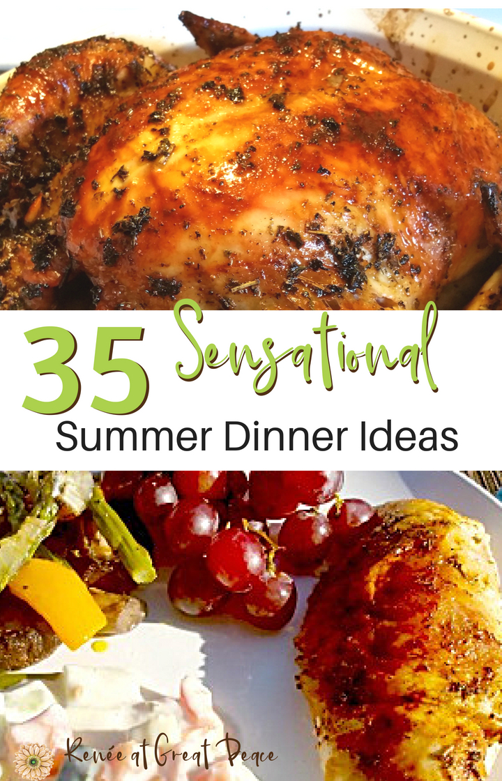 35 sensational summer dinners every family will love renée at