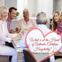 What is Authentic Christian Hospitality by Renée at Great Peace Academy