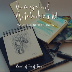 Homeschool Notebooking 101 - What You Need to Know   Renée at Great Peace #ihsnet #homeschool #notebooking