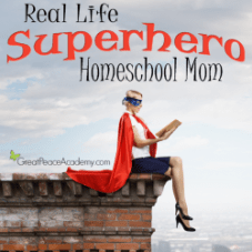 Superhero Homeschool Mom Thumbnail