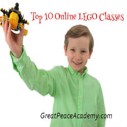 Top 10 Online LEGO Learning Classes | Great Peace Academy