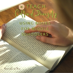 10 Cultural Diversity Books for Middle Schoolers | Renée at Great Peace #homeschool #culturaldiversity #ihsnet