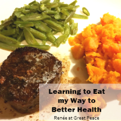 Learning to Eat my way to better health with #TrimHealthyMama   Renée at Great Peace Academy
