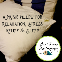 A Music Pillow for Relaxation, Stress Relief & Sleep   Dreampad Pillow Review   GreatPeaceAcademy.com