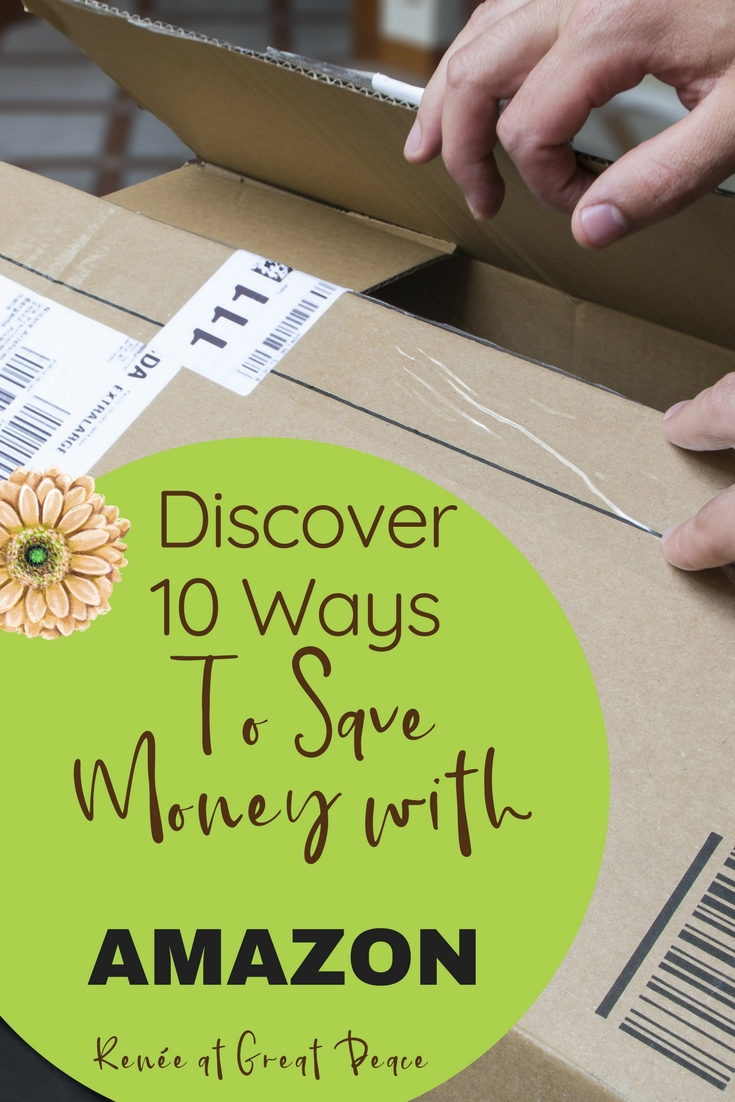 10 Ways to Save Money by Shopping with Amazon | Renée at Great Peace