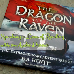 Sparking a Love of Reading with an Audio Drama from Heirloom Audio | GreatPeaceAcademy.com #ihsnet