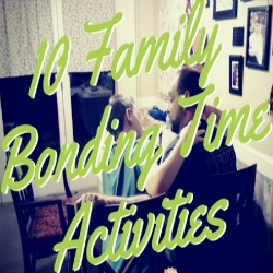 10 Family Bonding Time Activities | Renée at Great Peace