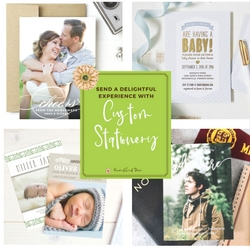 Send a Delightful Experience with Custom Stationery from @BasicInvite | Renée at Great Peace #ihsnet